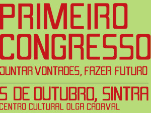 Ana Drago, António Costa e Paulo Fidalgo falam aos congressistas do LIVRE