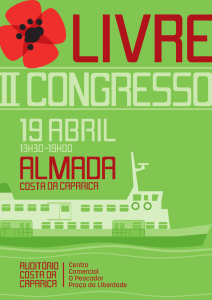 Cartaz do II Congresso do LIVRE