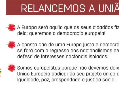 É urgente relançar o projeto Europeu!