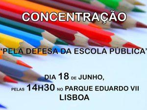 Defesa Escola Pública – 18 Junho, Lisboa