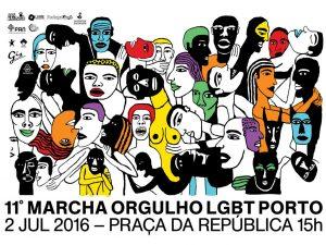 Marcha do Orgulho LGBT – 2 julho, Porto