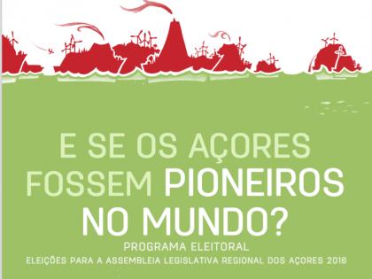 Apresentação do Programa Eleitoral Açores | 29 SET | Ponta Delgada