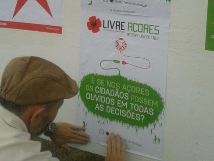 Colagem de Cartazes| 2 OUT | São Miguel