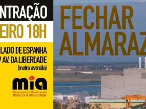 Concentração Fechar Almaraz – 12 de janeiro