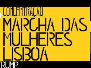 Marcha das Mulheres #NãoSejasTrump – 21 de janeiro
