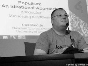"""Conversa com Cas Mudde sobre """"como combater o populismo"""" – Lisboa – 4 março"""