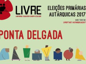 Primárias Ponta Delgada – debate 25 maio 19h (hora local) – eleição 27-28 maio