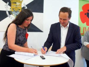 Assinado o Acordo LIVRE-PS para as autárquicas em Lisboa