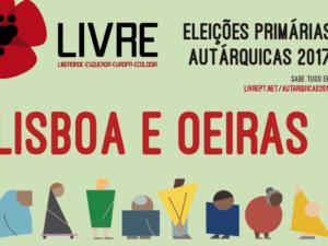 Primárias Lisboa e Oeiras – debate 6 julho 21h – eleição 8 julho