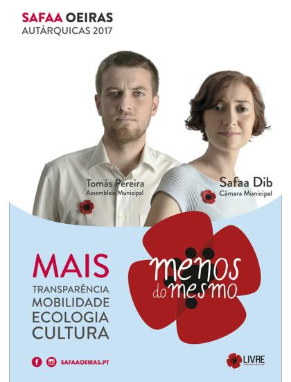 Apresentação da candidatura a Oeiras – 22 julho – Parque Urbano de Miraflores