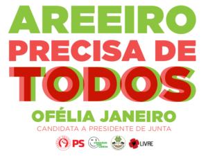 Apresentação da candidatura à freguesia do Areeiro – 1 setembro – Lisboa