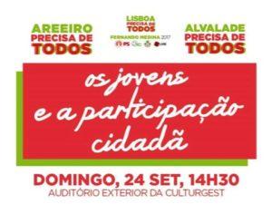 Debate Os Jovens e a Participação Cidadã – 24 setembro – Lisboa