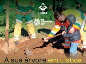 Plantar uma árvore em Lisboa – 3 fevereiro – Parque Urbano do Vale de Chelas