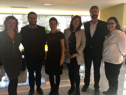 LIVRE reúne com dirigentes do Partido Verde Europeu