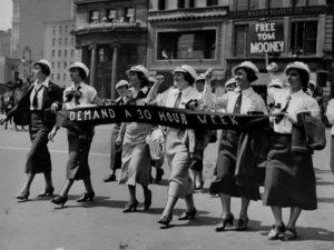A luta dos trabalhadores e trabalhadoras