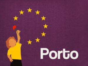1 maio: Participação na Marcha, Porto