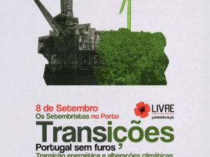 8 setembro: Jantar-debate Portugal sem Furos, Porto