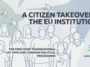 25 março: A Citizen Takeover of the EU Institutions, Bruxelas