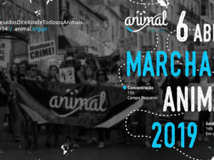 6 abril: Marcha ANIMAL – Lisboa