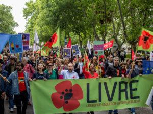 25 de abril em fotos – Desfile Av. da Liberdade, Lisboa