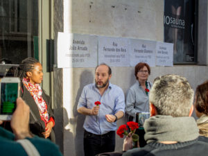 Homenagem aos cidadãos assassinados pela PIDE – fotos