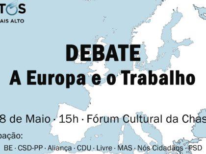 18 maio: Debate A Europa e o Trabalho, Alverca