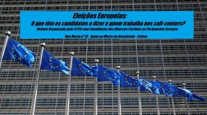 19 maio: Eleições Europeias e o Trabalho em Call-Centers?, Lisboa