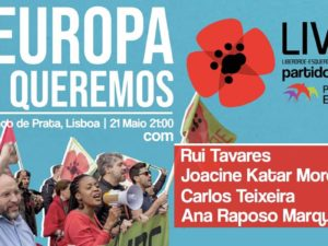 21 maio: A Europa que queremos, Lisboa