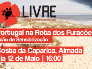12 maio: Portugal na Rota dos Furacões, Caparica