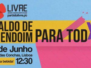 30 junho: Caldo de Amendoim para Todxs com Joacine Katar Moreira, Lisboa