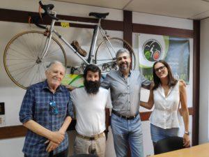 LIVRE reúne com Federação Portuguesa de Cicloturismo e Utilizadores de Bicicleta