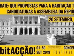 20 setembro – Lisboa: Debate Propostas para a Habitação