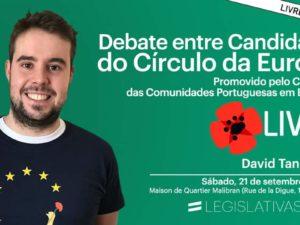 21 setembro – Bruxelas e online: Debate entre candidatos do Círculo Europa