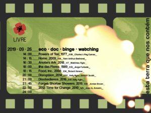 26 setembro: Coimbra – Sessão contínua de cinema para abrir cabeças