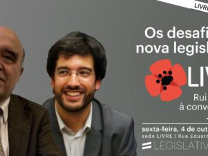 4 outubro – Coimbra: Os desafios da nova legislatura, com José Reis