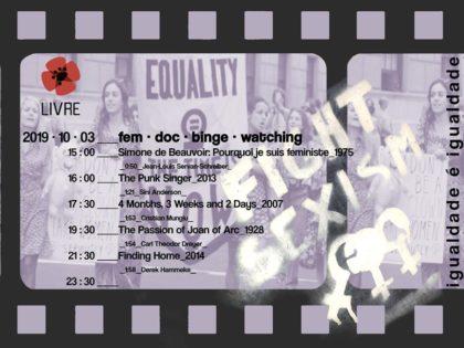 3 outubro: Coimbra – Sessão contínua de cinema para abrir cabeças