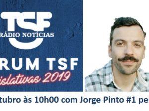 2 outubro – Fórum TSF com Jorge Pinto