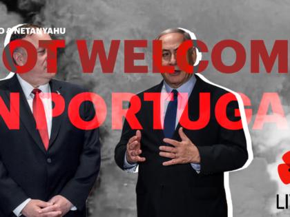 Pela paz e liberdade: Pompeo e Netanyahu não são bem-vindos a Portugal