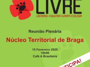 15 de fevereiro – Plenário em Braga