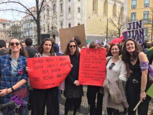 LIVRE na Greve Feminista Internacional