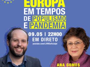 9 maio – Europa em Tempos de Populismo e Pandemia