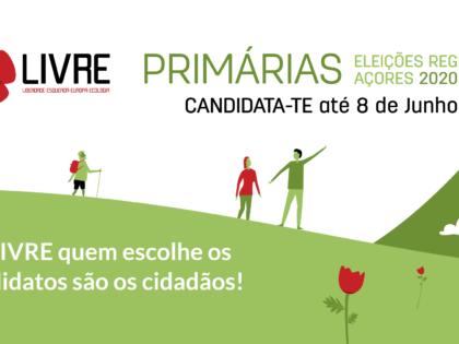 Açores 2020: candidata-te às primárias abertas!