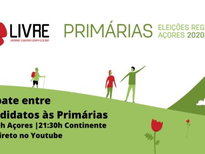 19 junho – Açores 2020: Segundo Debate/Sessão de Apresentação dos Candidatos Avalizados das Primárias