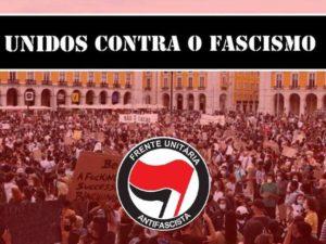 """LIVRE nas concentrações """"Unidos Contra o Fascismo"""""""