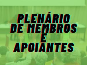 17 de setembro – plenário sobre Presidenciais