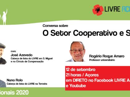 12 outubro – Setor Cooperativo e Social