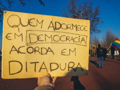 LIVRE em protestos contra Extrema-Direita em Portugal