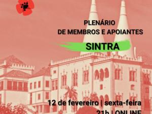 12 fevereiro – Plenário de Membros e Apoiantes de Sintra