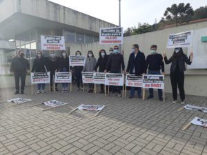 LIVRE Viana do Castelo | Manifestação dos Técnicos Superiores de Radiologia no Hospital de Santa Luzia, Viana do Castelo