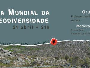 21 abril – Conversa LIVRE sobre Geodiversidade